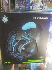 Auriculares Headphone Gamer C/microfono Para Ps4 Y Pc