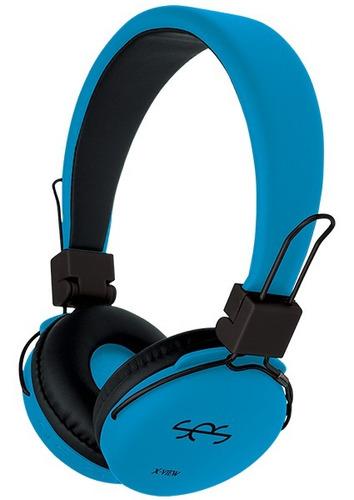 auriculares headphone x-view ses hp330 bluetooth mic hifi