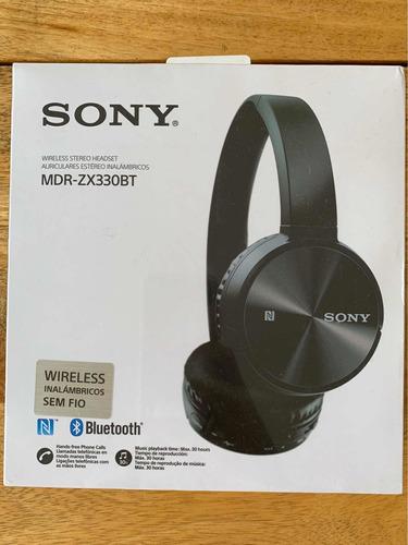 auriculares headphones - sony wireless headset mdr-zx330bt