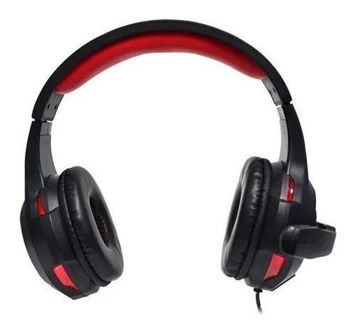 auriculares headset gamer noga st-8320 ps4 c/mic luz led usb