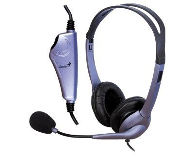 auriculares headset genius hs-04s con microfono