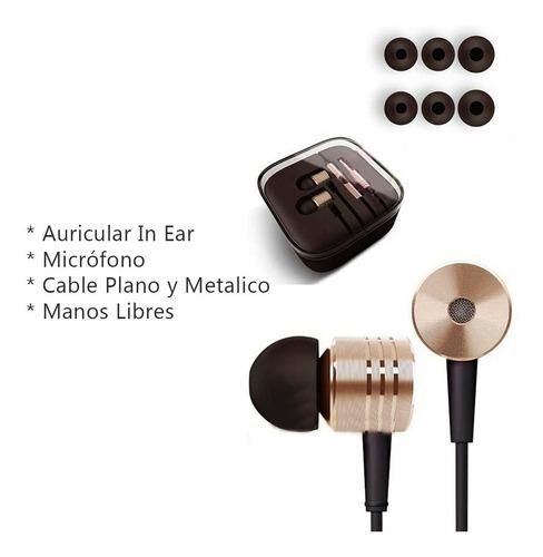 auriculares hp276 in ear premiun manos libres cable cordon