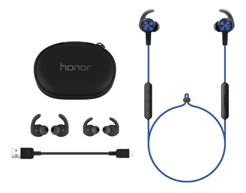 auriculares huawei honor xsport am61 bluetooth azul