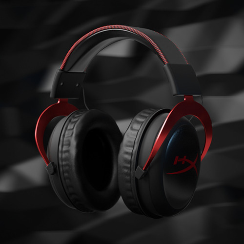 auriculares hyperx cloud 2 gaming 7.1 pc ps4 xbox gamer rojo