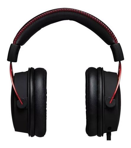 auriculares hyperx cloud alpha microfono diadema 3,5mm gamer