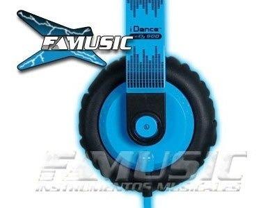 auriculares idance sedj900 blue & black detalle  sale%