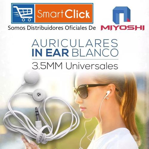 auriculares in ear blanco 3.5mm universales calidad y precio