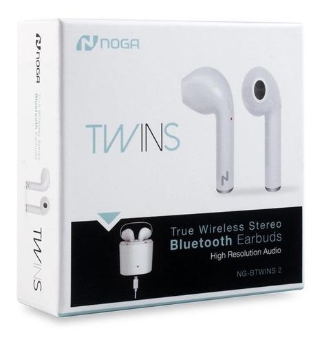 auriculares in ear bluetooth noga twins 2 tws manos libres