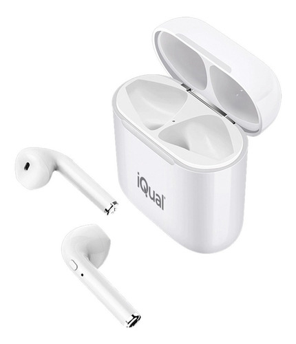 auriculares in ear bluetooth tws iqual b9 plus manos libres