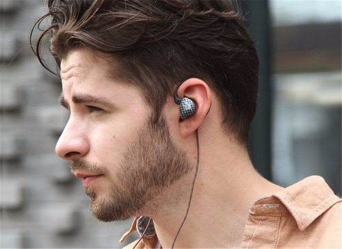 auriculares in ear monitoreo kz zst pro dual driver