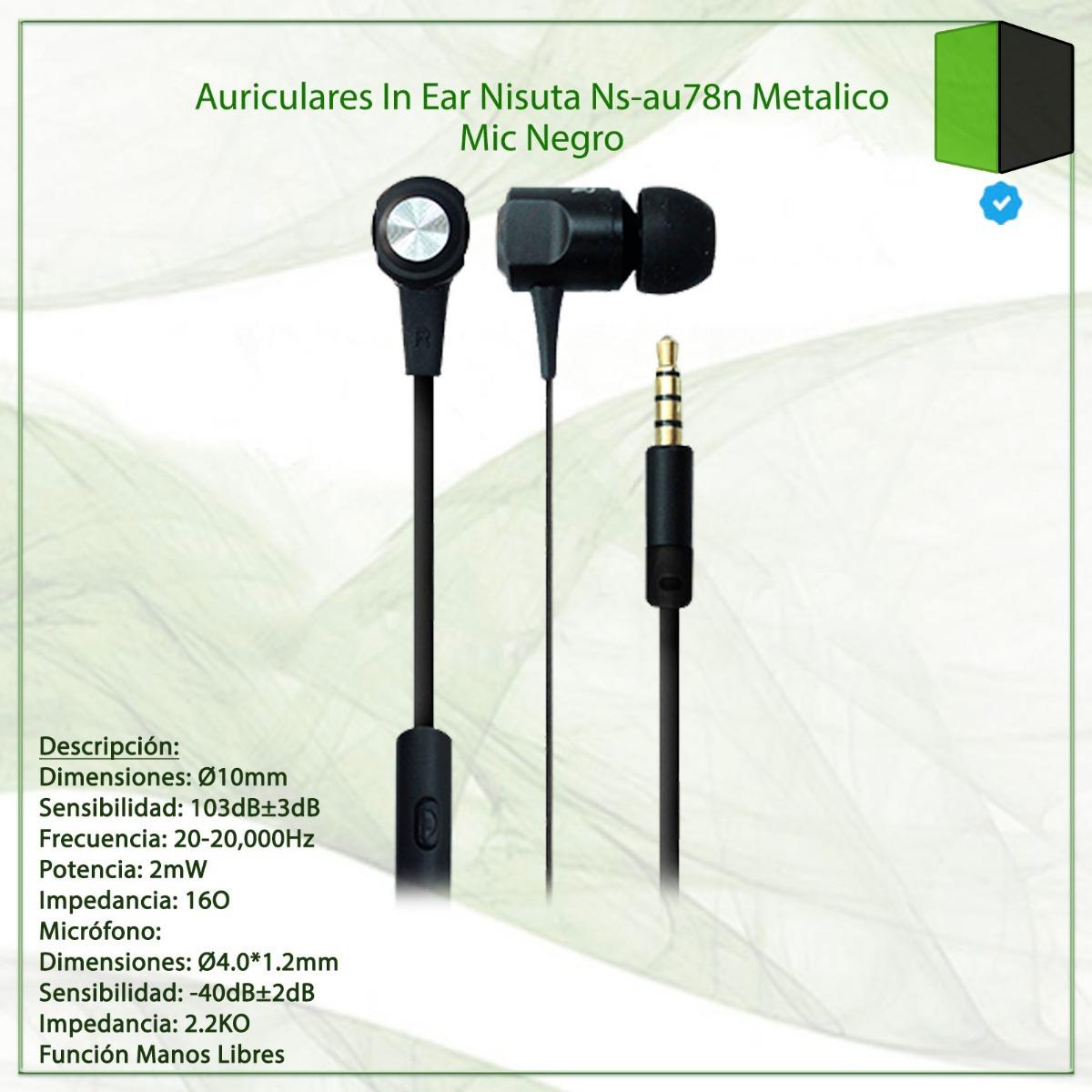 AURICULAR NISUTA IN EAR NS-AU78N