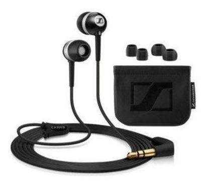 auriculares in ear sennheiser cx300 ii negro bolso iphone