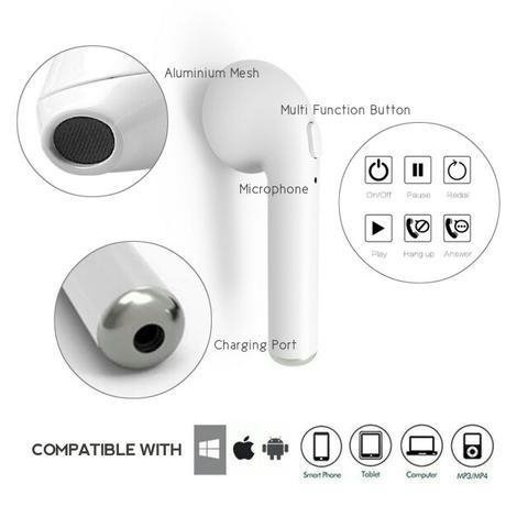 auriculares inalambrico bluetooth 5.0 i7s tws iphone android