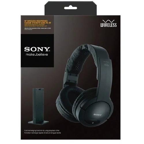 auriculares inalambrico sony mdr-rf985 para tv musica