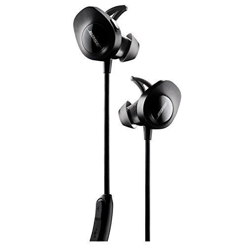 auriculares inalámbricos bose soundsport, negros