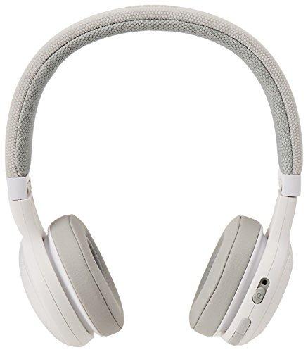 auriculares inalámbricos con micrófono jbl e45bt (blanco)