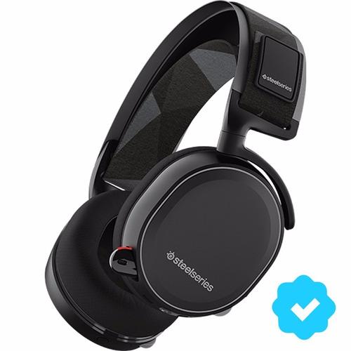 auriculares inalambricos gamer steelseries arctis 7 black