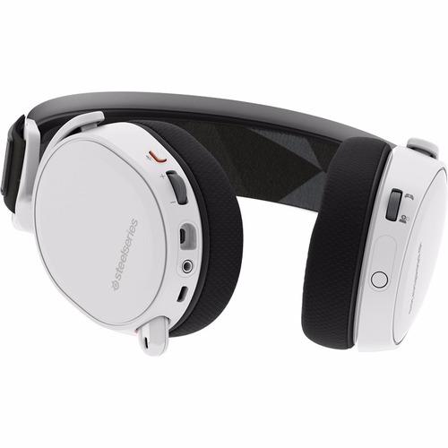 auriculares inalambricos gamer steelseries arctis 7 white