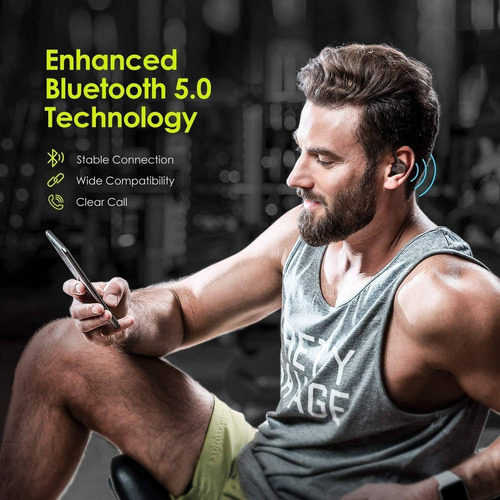 auriculares inalambricos holyhigh bluetooth negro