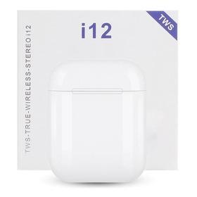 Auriculares Inalambricos I12 AirPods Control Tactil Siri