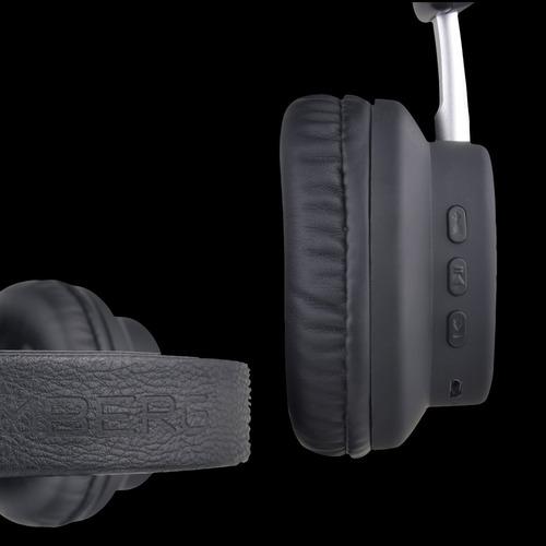 auriculares inalámbricos stromberg studio negro y plata