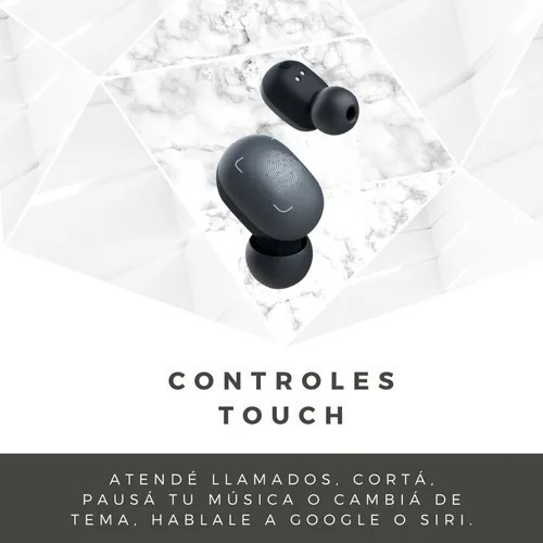 auriculares inalámbricos tws in-ear soundpara nano