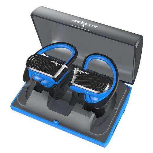 auriculares inalambricos zealot h10 tws azules