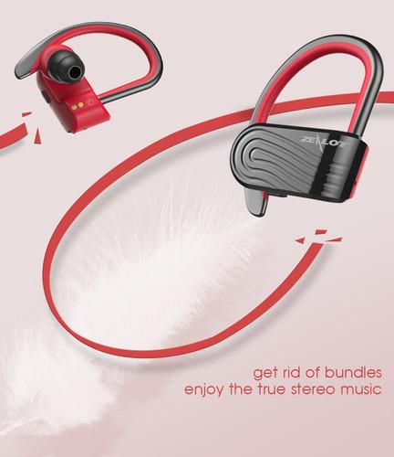 auriculares inalambricos zealot h10 tws negros