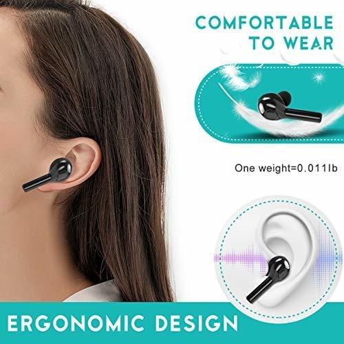 auriculares inalã¡mbricos verdaderos auriculares estã©reo bl