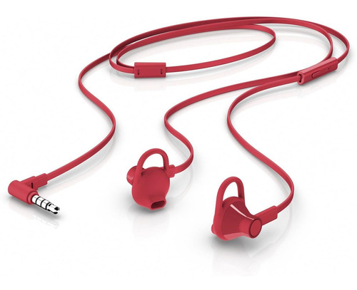 auriculares intrauditivos hp in ear 150 rojo