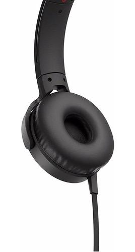 auriculares intrauditivos sony xb550ap extra bajos, negros