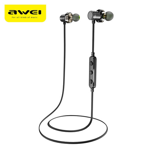 auriculares intraurales awei x670bl bluetooth inal?mbricos