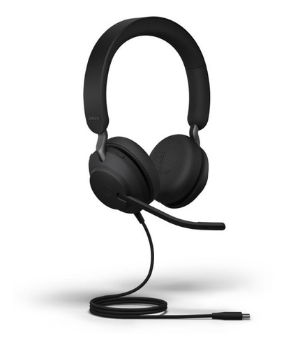 auriculares jabra evolve2 40 usb stereo home office jazz pc