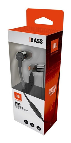 auriculares jbl t210 tune 210 pure bass originales graves