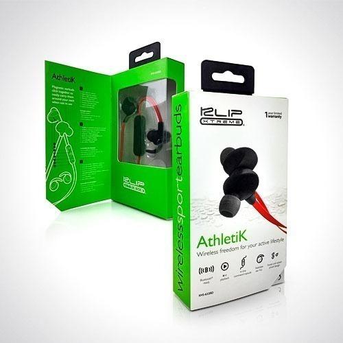 auriculares klip xtreme deportivos athletik bt mic khs-633rd