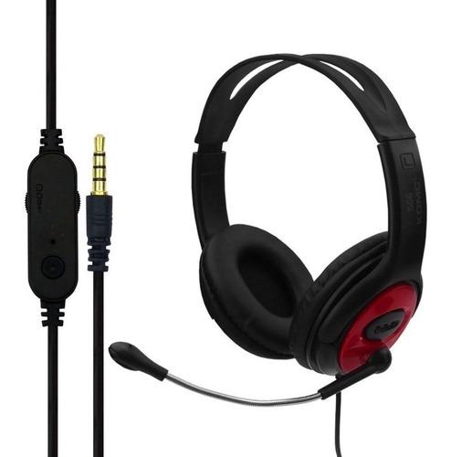 auriculares komc s66 call center juego audifono microfono