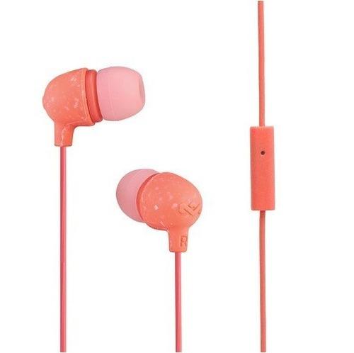 auriculares manos libres marley little bird - coral