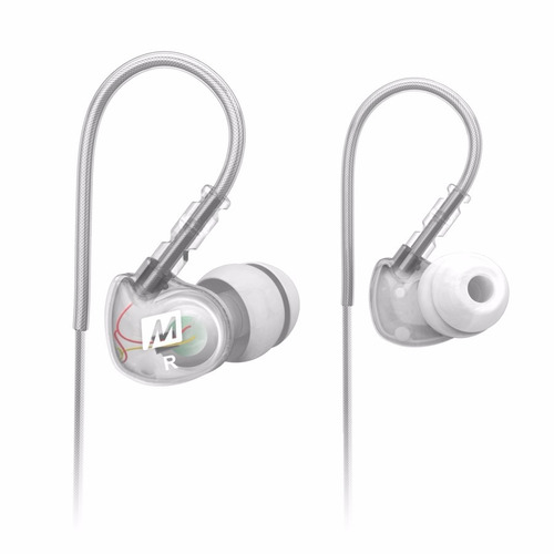 auriculares mee audio m6 sports deportivos gym running clear