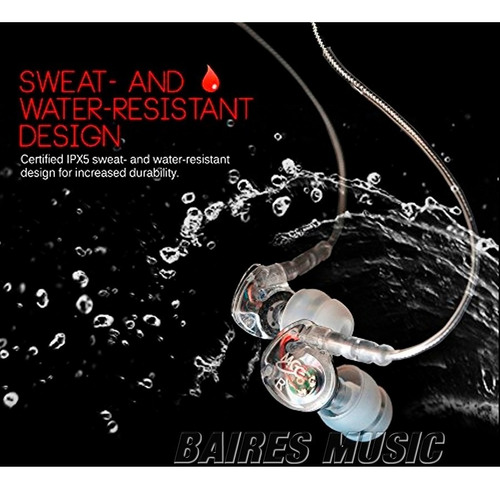 auriculares mee audio m6p cl deportivos con microfono sports