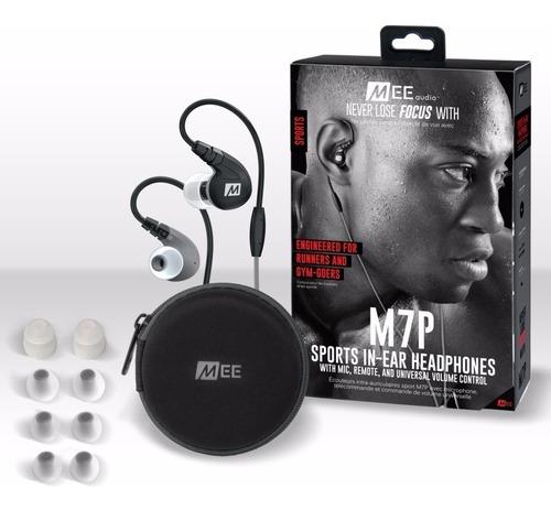 auriculares mee audio m7p gr deportivos con microfono sports