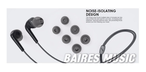 auriculares mee audio rx18  con refuerzo de graves
