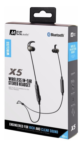 auriculares mee audio x5 bluetooth in ear stereo con imanes