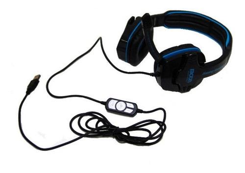 auriculares microfono pc gamer notebook moon ma2760pcmu