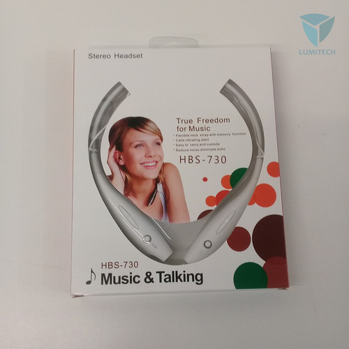 auriculares mod38 - bluetooth - flexible neck