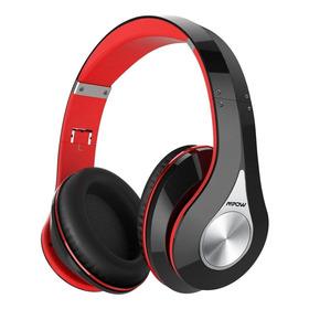 Auriculares Mpow 059 Bluetooth Over Ear Hi-fi Rojo Con Funda