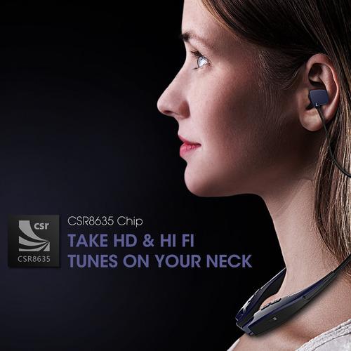 auriculares : mpow jaws gen-3 bluetooth headphones w/case p