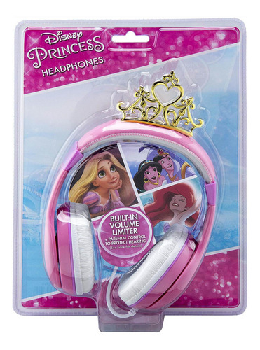 auriculares niños limitador de vol. disney princess [7mj7dk