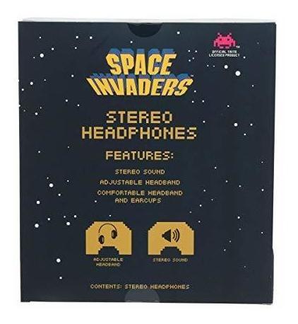 auriculares niños limitador de vol. space invaders [7pskxm3