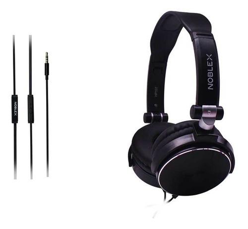 auriculares noblex hp107bb negros