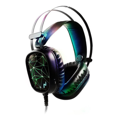 auriculares  noganet led st-hydra con mic gaming pc caseros